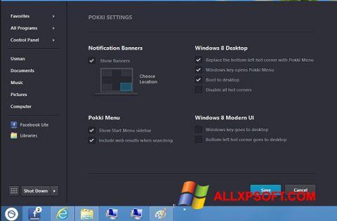 Screenshot Pokki Windows XP