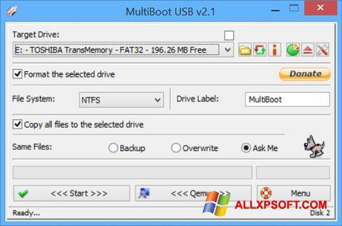 Screenshot Multi Boot USB Windows XP