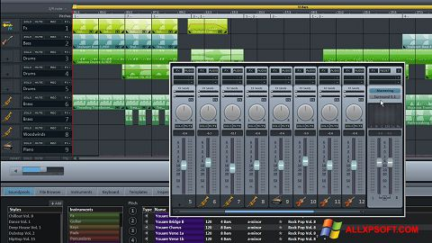 Screenshot MAGIX Music Maker Windows XP