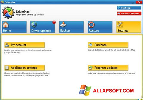 Screenshot DriverMax Windows XP