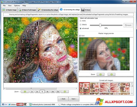 Screenshot Photo Collage Windows XP